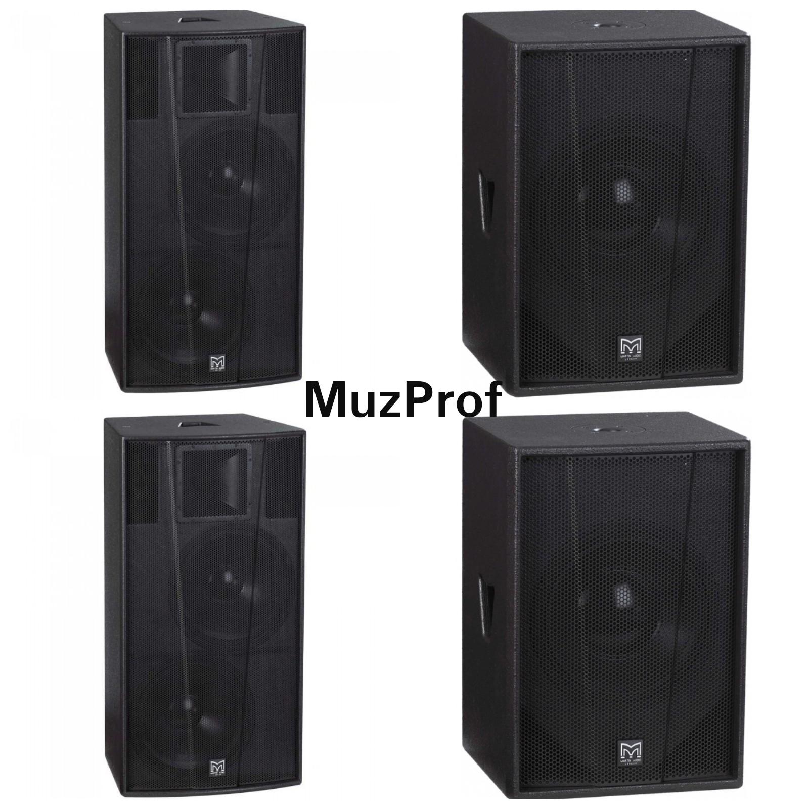 Акустическая система Martin audio, 4000 вт.