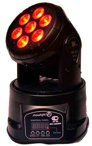 Голова световая Showlight mh-led 50w